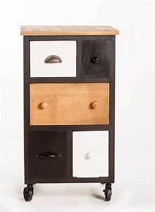 Petit Meuble A Roulette : meubles d appoint meuble de salon contemporain ~ Teatrodelosmanantiales.com Idées de Décoration