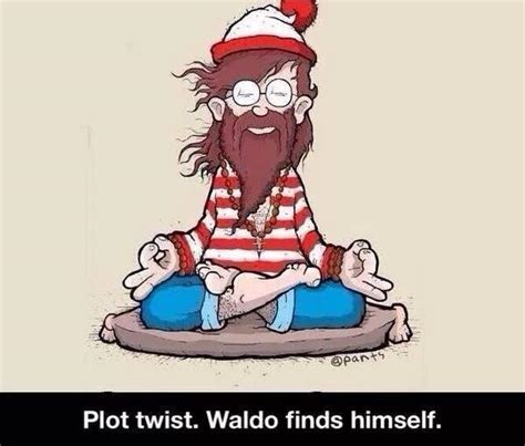 Waldo Meme - waldo finds himself where s waldo where s wally know your meme