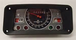 Ford 3910 Instrument Cluster  Tachometer