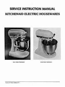 Kitchenaid Mixer Service Manual Pdf
