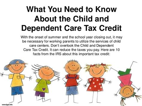 what you need to about the child and dependent care 805 | what you need to know about the child and dependent care tax credit 1 638
