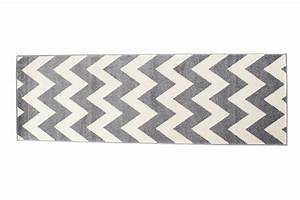 Läufer Flur Grau : l ufer br cke flur teppich muster zig zag modern in grau online shop teppiche und ~ Whattoseeinmadrid.com Haus und Dekorationen