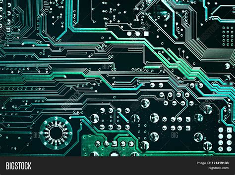 digital electronics template powerpoint template electronics motherboard digital chip