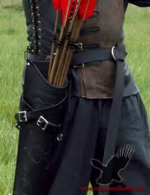Leather Archery Quiver