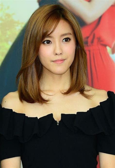 potongan rambut sebahu ala korea potongan rambut pendek