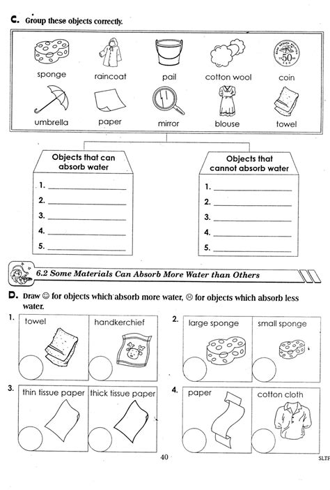 science year 3 worksheets