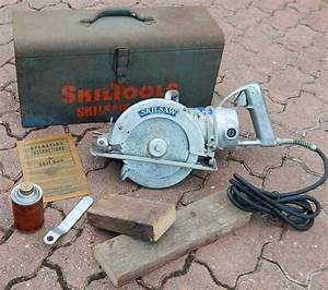 Skilsaw Model 77 7 1  4 U0026quot  Worm Drive Ball Bearing 13amp For