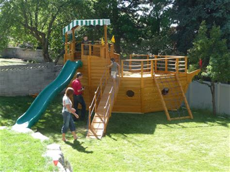James Pirate Ship Outdoor Playset How To Building Plans