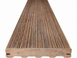 Lame De Terrasse Composite Longueur 4m : bois composite s lection de lames bois pefc pour terrasse tekabois ~ Melissatoandfro.com Idées de Décoration