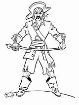 Coloring Pages Pirates Printable Body Builder Boys Print Getcolorings sketch template