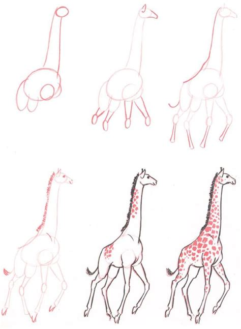 ways  draw  giraffe   cartoonist bored art