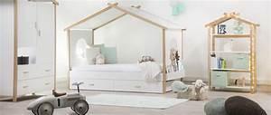Lit Design Enfant : un lit cabane pour une chambre d 39 enfant aventure d co ~ Teatrodelosmanantiales.com Idées de Décoration