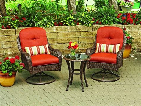 Patio Swivel Chair Set Garden Furniture Outdoor Wicker Table Cushion Ottoman #chair #patio Williams Sonoma Chairs Garden Treasures Patio Time Out Chair Sayings Yoga Office Safety First High Recall Kids Table Foldable Dining Fully Reclining