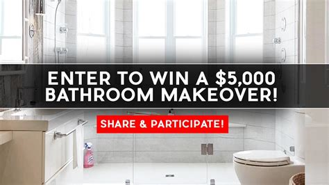 Bathroom Makeover Contest contest win a 5 000 bathroom makeover