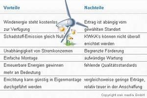 Sonnenenergie Vor Und Nachteile : kleine windkraftanlagen kwka ~ Orissabook.com Haus und Dekorationen