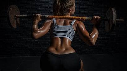 Gym Fitness Training Lifting Weight Bodybuilding Legs