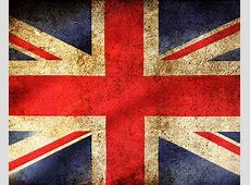 British Union Jack Flag Vintage Metal Travel Wall Sign