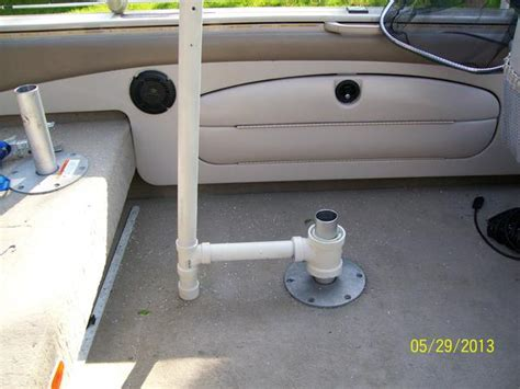 Umbrella For Boat Rod Holder by Umbrella Fo The Boat