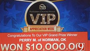Publishers Clearing House Says It Mistakenly Sent ...