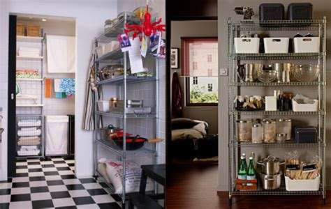 Kitchen Cabinets Organizers, Pantry Shelving Systems Ikea