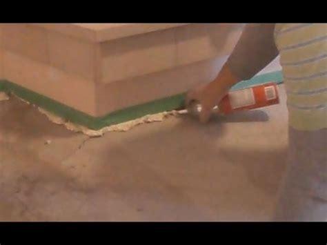 concrete floor crack repair  putting  leveling