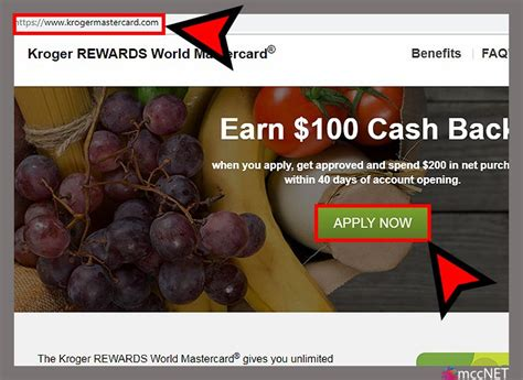 Maybe you would like to learn more about one of these? www.KrogerMastercard.com   Apply for Kroger credit card $100 Bonus