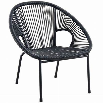 Round Chair Wicker Chairs Stacking Outdoor Athome