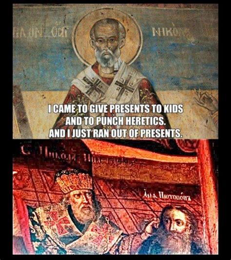 St Nicholas Meme - what saint nicholas taught me today all this time