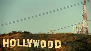 Time lapse of Hollywood sign in day to night mode - YouTube  Hollywood