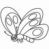 Leech Coloring Butterfly Cartoon Depositphotos sketch template