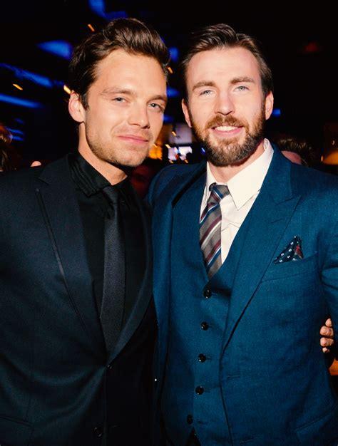 Sebastian Stan & Chris Evans | Chris evans, Chris evans ...