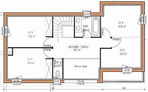 plans de maisons modernes gratuit et telechargeable With maison de 100m2 plan 15 modale de construction traditionnelle de 90m2 de plain