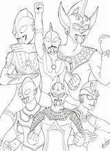 Ultraman Mewarnai Gambar Coloring Putih Hitam Zero Hero Kartun Untuk Taro Legend Diwarnai Warna Ginga Template Anak Colorear Boys Stickers sketch template