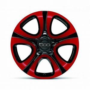 Jante Alu Fiat 500 : kit 4 jantes alliage 18 pouces fiat 500x bicolores rouge noir ~ Melissatoandfro.com Idées de Décoration
