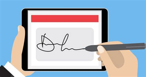electronic signature hold   court