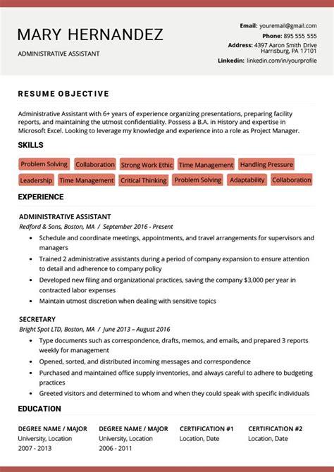 hybrid red resume rg resume templates resume examples