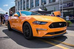 2018 Mustang Orange Fury | Motavera.com