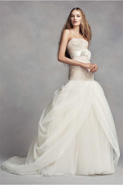jewel tulle   wedding dress  lace detail davids