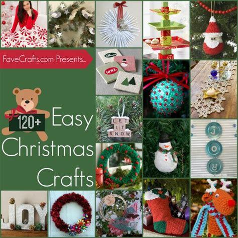 124 easy christmas house crafts favecrafts com