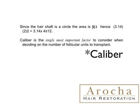 hair characteristics effect hair transplant