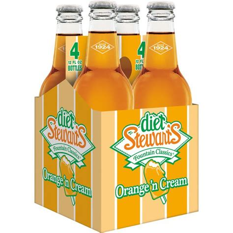 One cup of coffee or one can of diet soda per day is usually fine. Diet Stewart's Orange 'n Cream Soda (12 fl oz) - Instacart