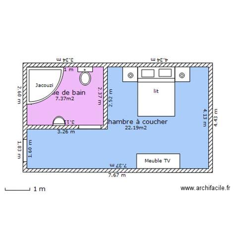 plan d une chambre d hotel chambre d 39 hotel plan 2 pièces 30 m2 dessiné par aymen0482