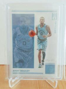 2018/19 Panini Encased Avery Bradley Platinum #1/1 One of ...