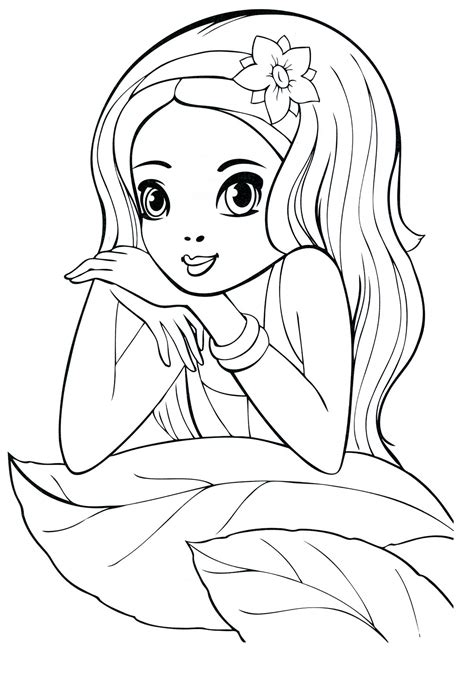 coloring pages   year  girls    print