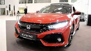Honda Civic Sport Plus : 2017 new honda civic 1 5 vtec turbo sport plus exterior and interior youtube ~ Medecine-chirurgie-esthetiques.com Avis de Voitures