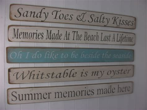 shabby chic wooden signs shabby chic wooden signs home interiors decorative beach ebay