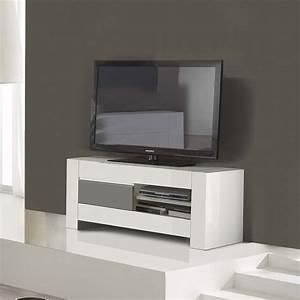 Petit Meuble Tele : petit meuble hifi meuble tv angle moderne trendsetter ~ Teatrodelosmanantiales.com Idées de Décoration