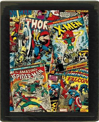 Marvel 3d Comics Framed Lenticular Covers 29cm