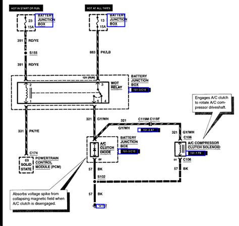 2007 F150 Ac Wiring Diagram by My A C In My 2000 Ford F 150 Will Not Cold Ac I Don