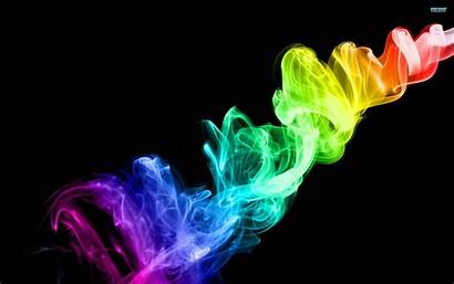 Smoke Wallpapers Colored Colorful Abstract Neon 3d
